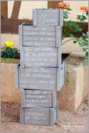 id e original mariage des idées originales pour présenter votre menu de mariage