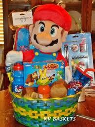 easter basket gifts nintendo mario easter basket for birthdays easter