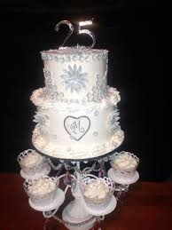 25th Wedding Anniversary Cake Wedding Cake Cake Ideas By