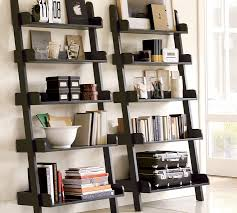 Diy Shelf Leaning Ladder Wall by Charming Ideas Wall Of Shelves Stunning To 50 Awesome Diy For Your