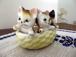 etsy find kitsch vintage cats