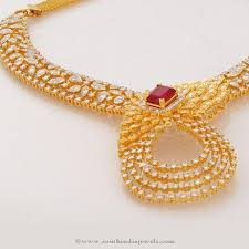 jewelry gold diamond necklace images 36 joy alukkas diamond necklace designs haram designs in jpg