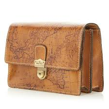 leather map nash lanza leather map crossbody bag 8517469 hsn