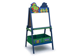 teenage mutant ninja turtles wooden double sided activity easel