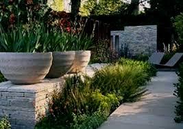 maxi stone stone and flower garden combination ideas
