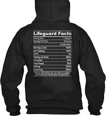 lifeguard facts facts gildan hoodie sweatshirt ebay