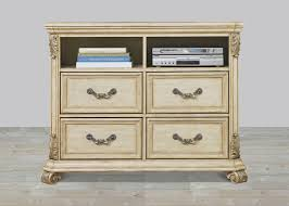 4 drawer media chest with hardwood solids u0026 birch veneers wood and