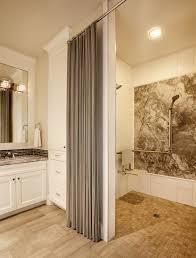 grey shower curtain bathroom contemporary with animal print bath
