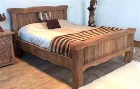 Solid Wood Bed Frames Uk Rustic Wood Bed Frame Rustic Solid Wood Bed Frame Rustic Wood Bed