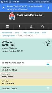 tame teal paint by sherwin williams oh i think this is the one