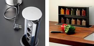 prise de courant plan de travail cuisine poubelle cuisine encastrable dans plan de travail maison design