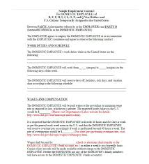 sample employment contract sample fixed term employment contract
