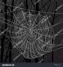 halloween spider web background realistic spider web over black background stock vector 123271915
