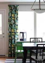 Drapes For Dining Room Making The Case For Hanging Curtains In Your Rental The Homes I