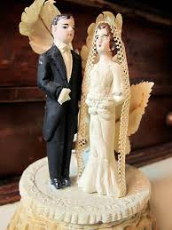 vintage wedding cake topper vintage style wedding cake toppers