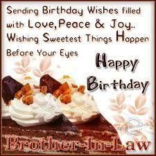 50 happy birthday quotes for brother in law with images