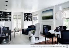themed house 15 lovely white themed living rooms home design lover