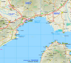 Map Greece by Kavala Maps Greece Maps Of Kavala
