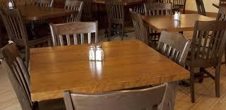 wood plank restaurant table tops wood restaurant tables solid plank table tops