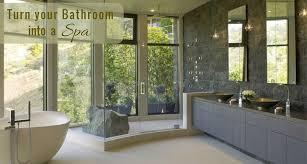 Turn Your Bathroom Into A Spa - clever ideas to create a spa feel bathroom bella vista