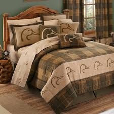 Plaid Bed Sets Ducks Unlimited Plaid Comforter Sets Camo After