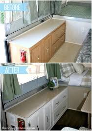 Caravan Interior Storage Solutions Pop Up Camper Remodel The Big Reveal The Pop Up Princess