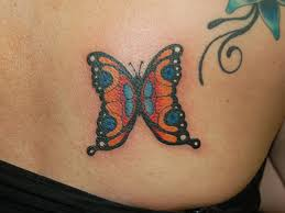 20 excellent tribal butterfly tattoos