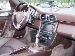 porsche cars interior 2009 porsche 911 turbo cab in cream white with cocoa interior