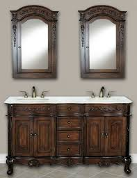 Kensington 60 Vanity 60 Silvana Vanity 60inch Double Sink Chest Antique White Vanity