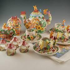 bunny tea set merc asia garden party bunny tea pot set ebth