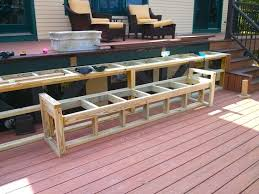 Trex Benches Build Deck Bench Seating Ask The Builderask The Builder