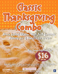 thanksgiving pie combo dining services