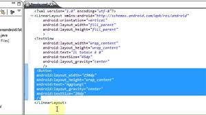 android textview layout gravity java creare applicazioni android tutorial 7 creare dei pulsanti in