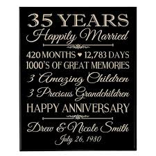 35 Wedding Anniversary Messages For 25 Unique 35th Wedding Anniversary Gift Ideas On Pinterest Diy