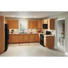 lowes medium oak kitchen cabinets now portland 30 in w x 30 in h x 12 in d wheat door wall stock cabinet