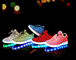 buy shoes with lights for adults usb charging led light