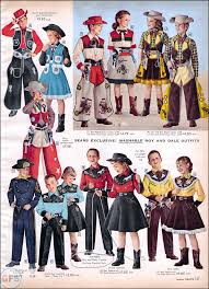 Cowgirl Costume Halloween Sears Catalog Goodness 1 Roy Rogers Dale Evans Cowboy U0026 Cowgirl