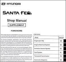 2006 hyundai santa fe manual mid 2003 v6 2004 hyundai santa fe repair shop manual original