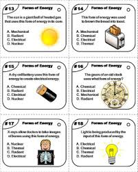 is light a form of energy of energy task cards sound and light potential and kinetic