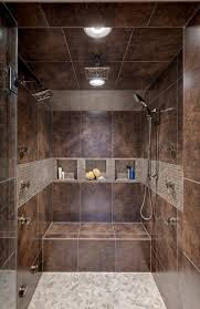 Ceramic Tile Bathroom Designs Ideas by Best 25 Walk In Shower Designs Ideas On Pinterest Bathroom