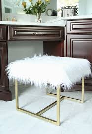 great diy ottoman less than perfect life of bliss faux fur