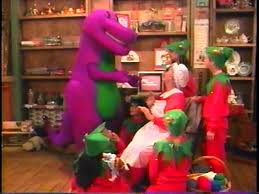 Barney And Backyard Gang Waiting For Santa Barney Wiki Fandom Powered By Wikia