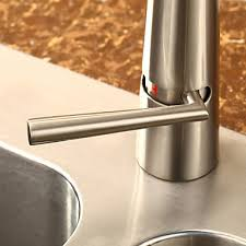 Kitchen Faucet Nickel by Contemporary Brass Kitchen Faucet Nickel Brushed Finish