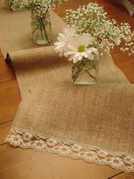 how to make burlap table runners for round tables burlap vintage lace table runner 60 burlap table decorations