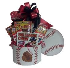baseball gift basket baseball fan sports gift basket m r designs giftsm r designs