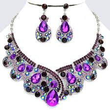 earring necklace rhinestone images 18 best wedding guest jewelry images crystal jpg