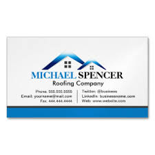 roofing company business cards templates zazzle