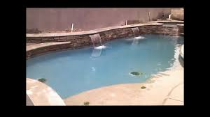 swimming pool with precast coping youtube