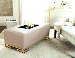 large padded coffee table large ottoman coffee tables thesaucytomato info