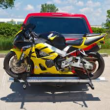 Heavy Duty Hitch Mounted Motorcycle Hauler Smc 600r Discount Ramps